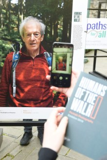 PR photography for Paths for All's Humans of the Walk exhibition launch