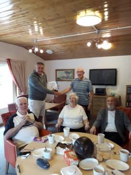 Bield tenants take part in Sporting Memories   Charity PR