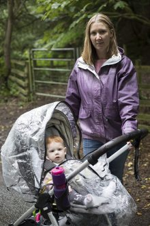 PR photograph of Deborah and Emma as part of Humans of the Walk campaign