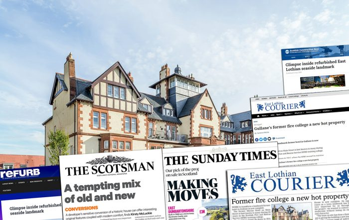 Property PR coverage for Marine Rise, Gullane