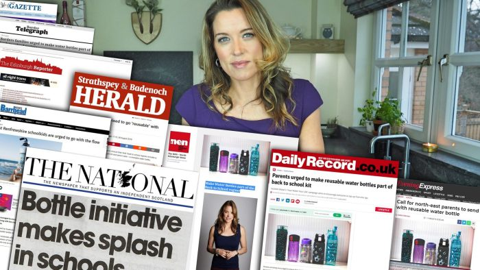 Scottish Water floods the media with Back to School Regime | Scottish PR