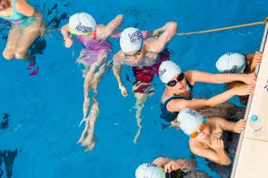 First ever Learn to Swim event is held outdoors | PR Photography