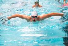 Swim Star Makes Waves in Perth   PR Photography