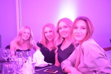 Members of the award winning PR team (L to R) Catriona Quinn, Catriona Conway-Mortimer, Emma Lourie, Angelika Muzyka
