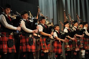 Scottish PR photography of Scottish Schools Pipe Band Championships