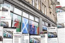 Image shows hospitality PR success for Beds and Bars group announcing £2.3m expansion in Scottish capital