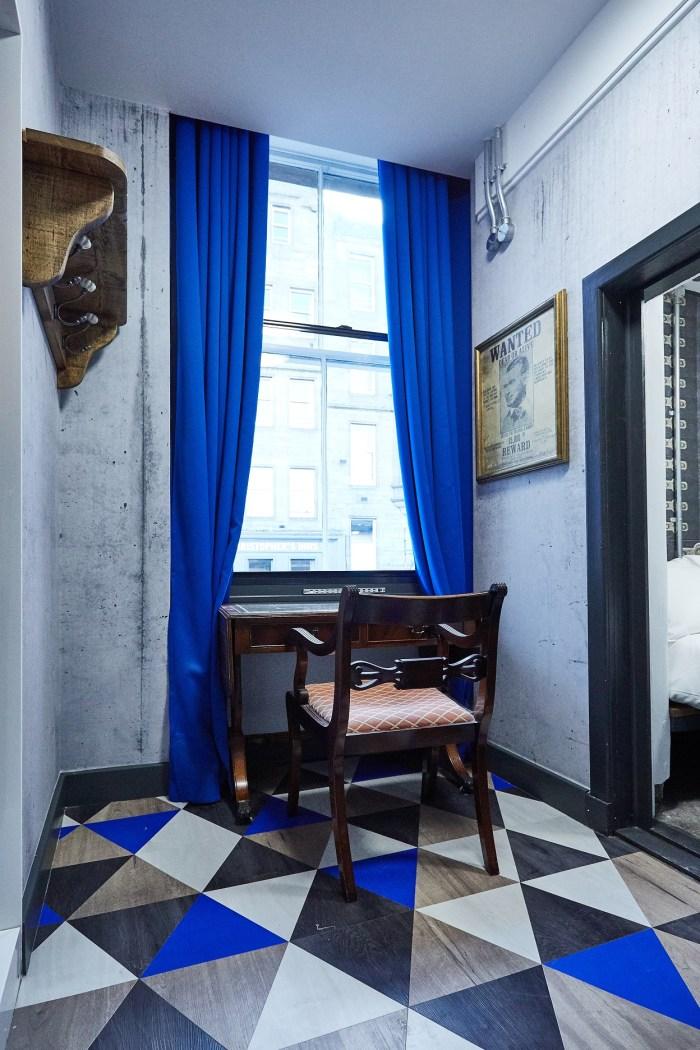 Hospitality PR photograph of the secret Vault Room at St Christopher's Inns hostel in Edinburgh