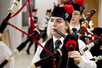 Piping Competition Honours Manchester Bombing Victim | Edinburgh PR