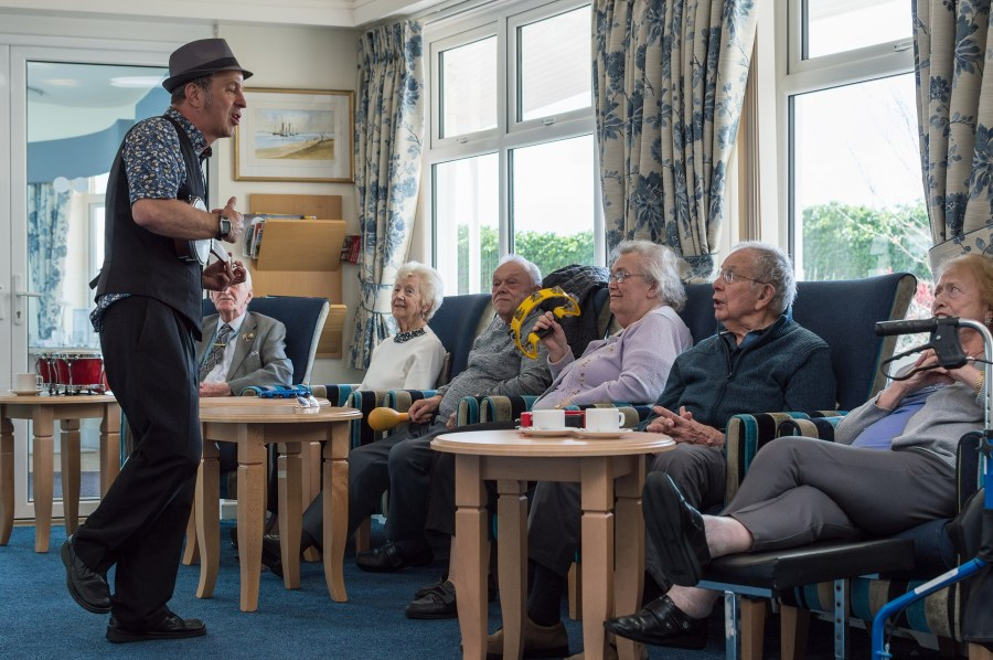 Affordable Home Provider tunes into Music Charity with funding   Care PR