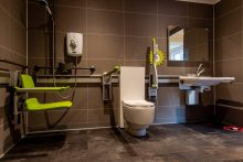 PR Photograph of Blackwoods BoxHouse Bathroom Technology
