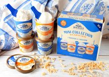 Product shot showing Mackie's mini collection tubs | Food and drink PR
