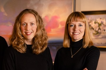 PR photography of staff at Morningside Gallery in Edinburgh, Scotland