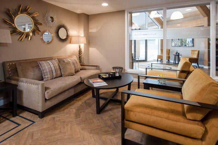 Internal living area at Cramond Residence