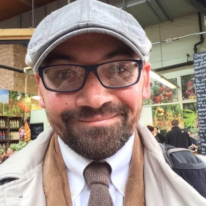 Headshot Christopher Tucker from University of Edinburgh Accomodation by Holyrood PR