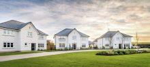 Property PR photography Castle Bay Dunbar, exterior shot CALA sales and Marketing CALA Homes
