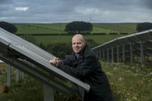 Scottish PR photography Mackie's Solar Panel