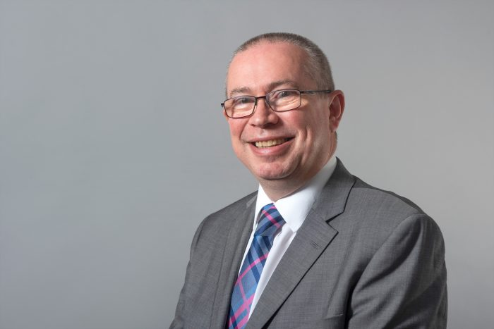 Charity PR photography headshot of Scott Mitchell managing director of Surgeons Quarter