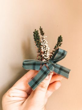 Social Care PR photography Tartan Brooch at Cramond Residence