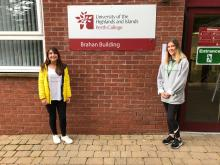 Scottish PR photography Caroline and Bethany, Paths For All volunteers