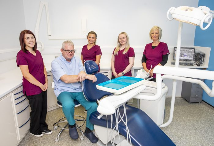 Health PR photography, Sandgate Dentistry, Clyde Munro Dental Group, Mark Fitzpatrick and team