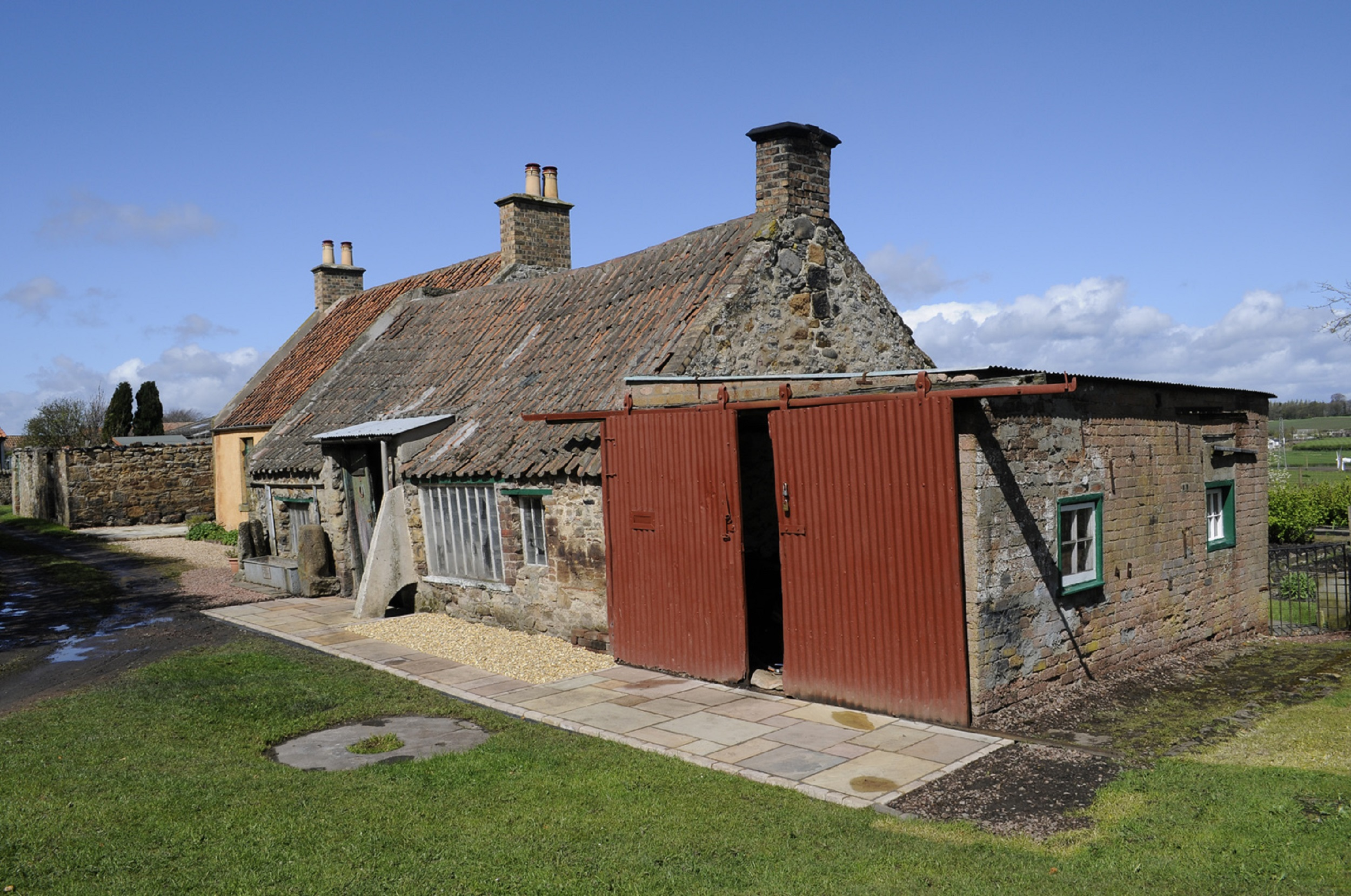 Exterior of Cousland Smiddy near Dalkeith in a consumer PR story by public relations experts Holyrood PR