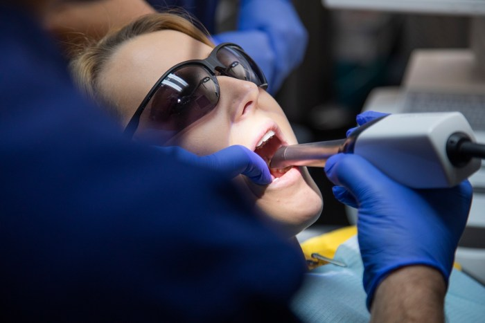 Health PR photography patient at Clyde Munro Dental Group.