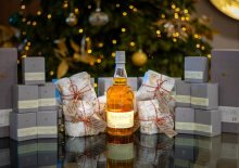 Social Care PR photography Glenkinchie Distillery Tasting and Virtual Tour at Cramond Residence.