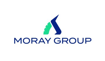 Professional Services PR photography, Moray Group logo.