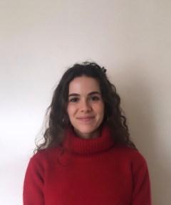 PR photography, Staff headshot of Junior Account Executive Lauren Del Fabbro, Holyrood PR Edinburgh.