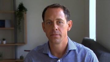 Social care PR photography headshot of Doug Moyes, Blackwood.