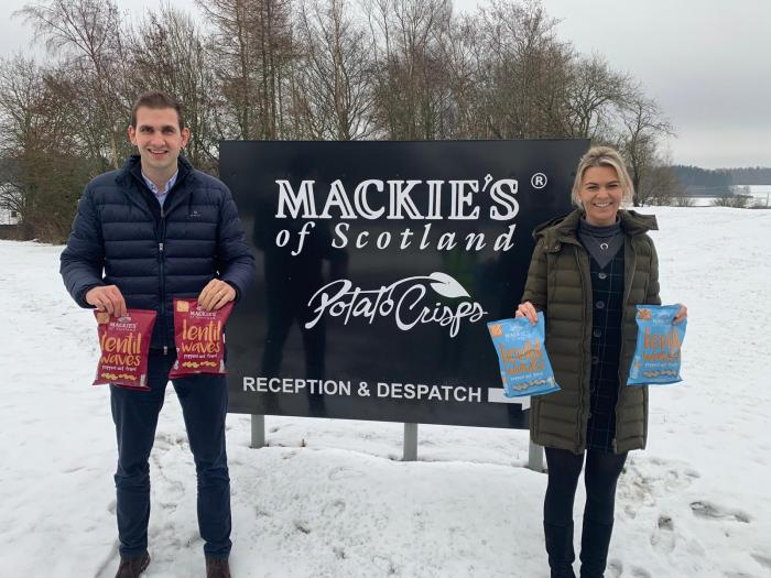 Food and Drink PR photography, James and Sally Taylor, Mackies Taypack.