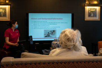 Tech helps a modern care home connect while residents isolate | Care PR