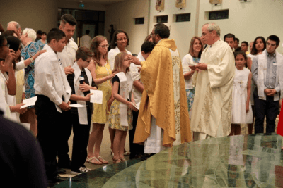 Easter confirmation
