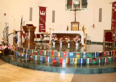 pentecost sunday -18 altar