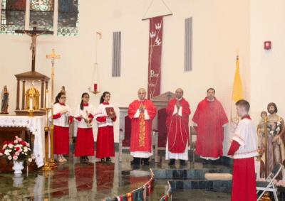 pentecost sunday 8-18