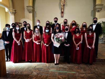 Holy Spirit Parish continues to support the Saint John High School Choir