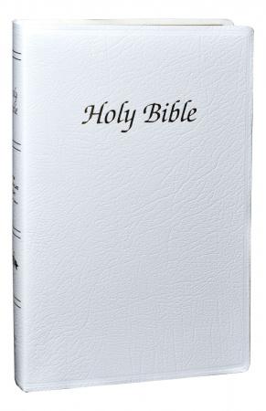 NAB First Communion Bible (White)