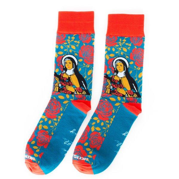 St. Thérèse of Lisieux Socks