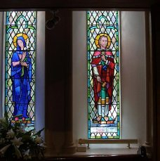 St Elizabeth and St Patrick Window