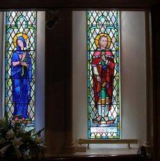 St Elizabeth and St Patrick Window