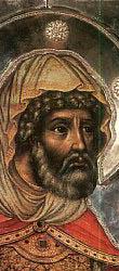 Ærverdige Longinus Centurion, som sto ved korset Herrens