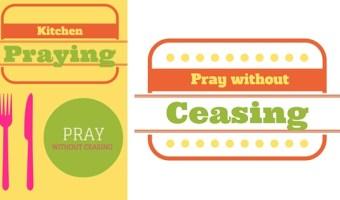 Kitchen Praying