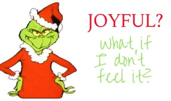 Joyful: What if I Don't Feel It?