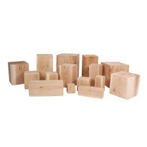 Holzblöcke - Holzklötze