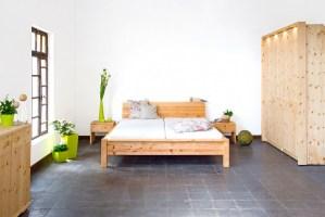Zirbenholz Bett – Die Holzartikel Manufaktur