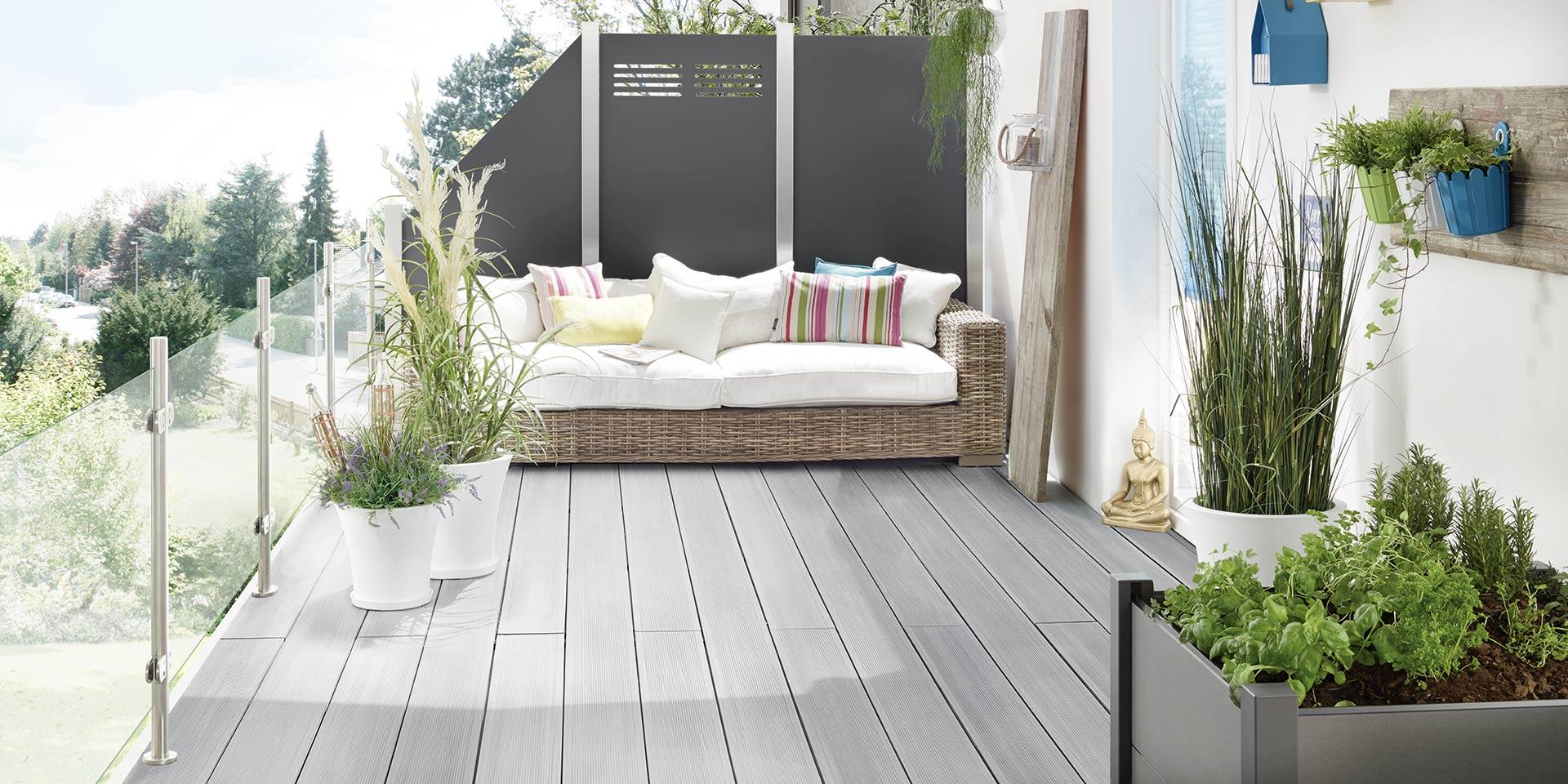 Mehr Komfort mit WPC und BPC Terrassendielen
