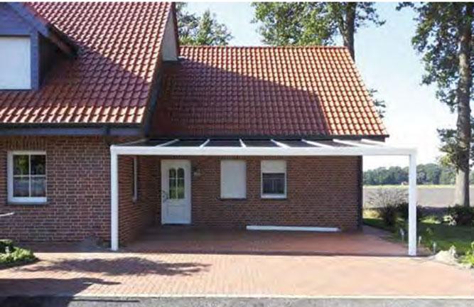 Holzland Köster Überdachung als Carport in Emmerke