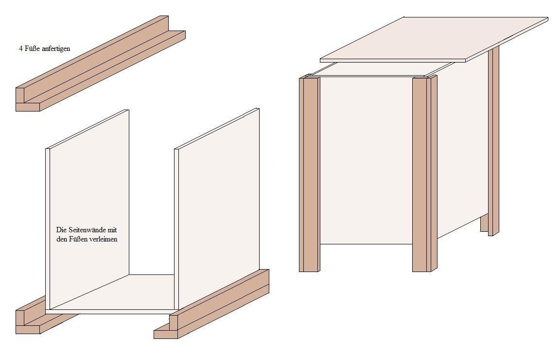 bauplan f r eine holzkiste anleitungen und tipps zu holz. Black Bedroom Furniture Sets. Home Design Ideas