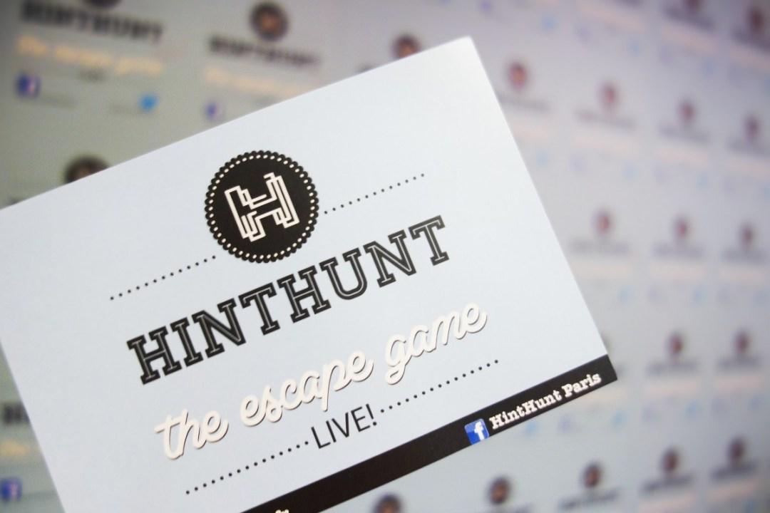 Hint Hunt Escape Game Paris