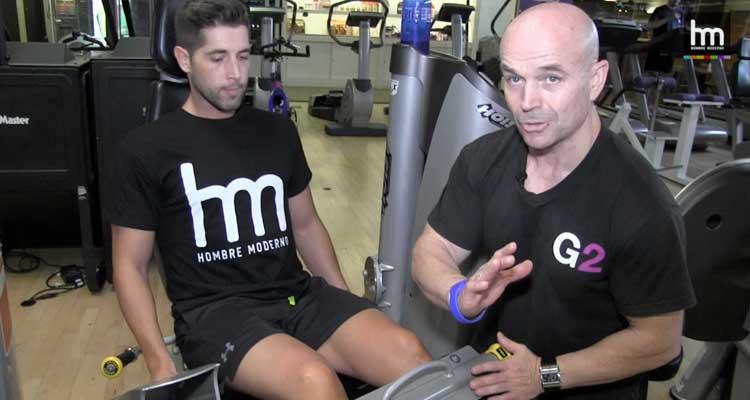 'En el gym': Femoral, glúteo y gemelos
